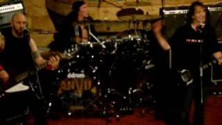 ANVIL metal on metal VILLAGE CINEMA EAST - NEW YORK CITY 08.01.09