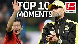 5 Goals in 9 Minutes, Emotional Goodbyes, Records & More - Top 10 Bundesliga Moments 2010-19