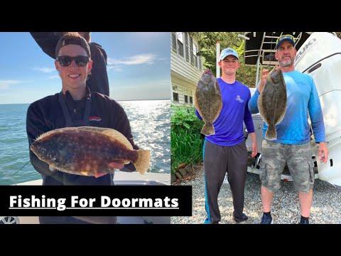 Flounder Fishing In Wachapreague Virginia