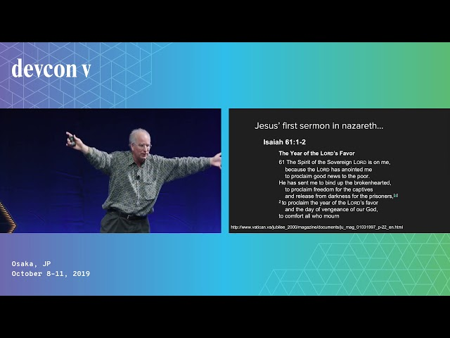 Money and Debt and Digital Contracts by Brewster Kahle (Devcon5)