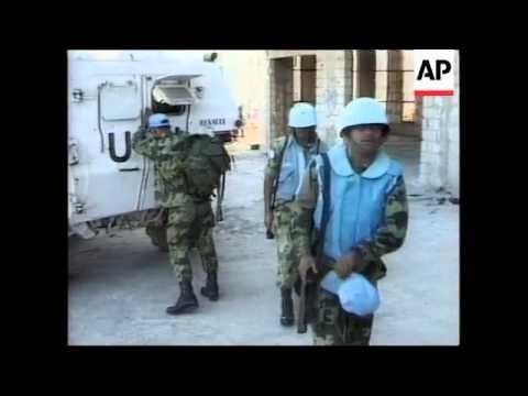 LEBANON: UN PEACEKEEPERS DEPLOYED (V) - YouTube