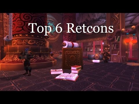 My Top 6 Retcons in Warcraft Lore