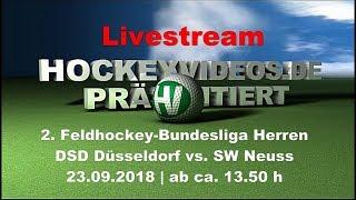 2. Feldhockey-Bundesliga Herren DSD vs. SWN 23.09.2018 Livestream