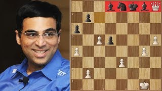 Anand Should Get A Brilliancy Prize for His Game against Leko | World Rapid Championship | Round 3
