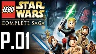 Lego Star Wars Complete Saga Walkthrough Part 1