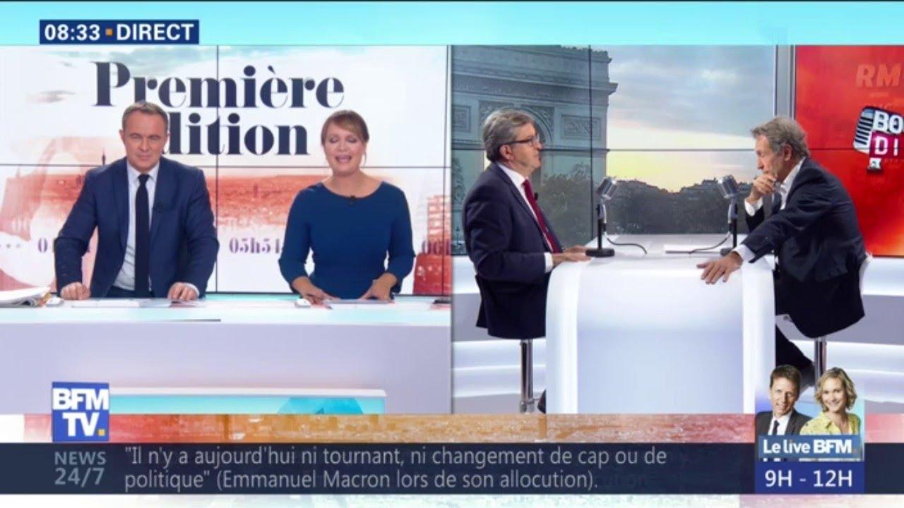 """Macron Président, """"bien sûr que j'aimerais que ça s'arrête"""", déclare Mélenchon"""
