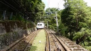 叡山ケーブル(ケーブル八瀬駅~ケーブル比叡駅)