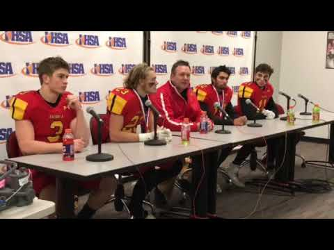 2017 7A state Title Batavia Football Press Conference