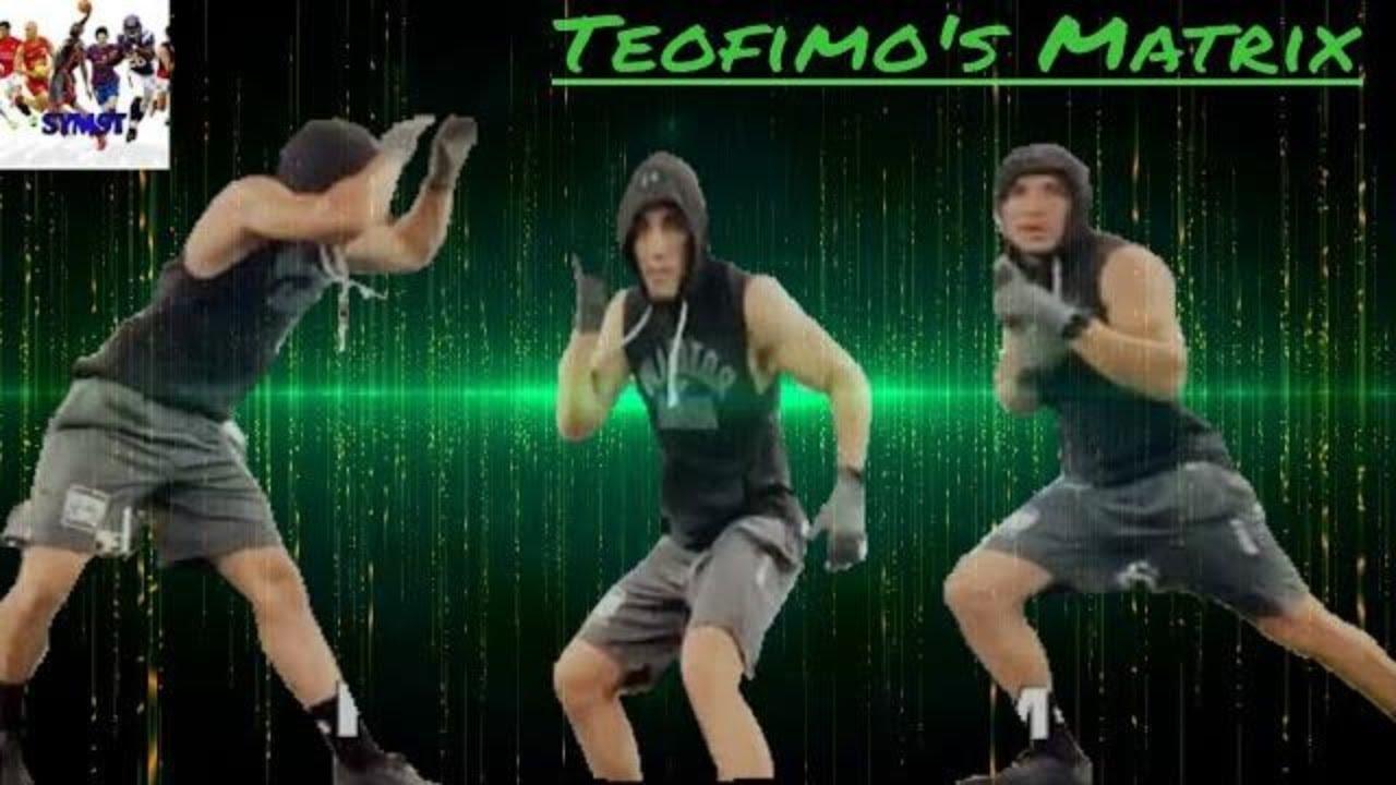 Teofimo In The Matrix