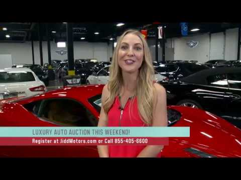 Jidd Motors Luxury Auto Auction Chicago Wgn Youtube