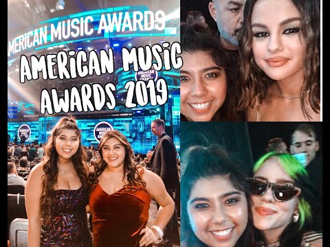 AMERICAN MUSIC AWARDS 2019// LA VLOG