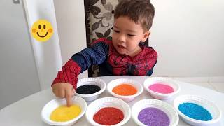 Aprender as cores em inglês com sorvete | Learn Colors with Ice Cream for Children and Babies