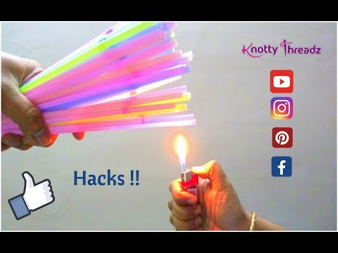 Creative Life Hacks Using Drinking Straws You Should Know | Travel Hack Ideas Using Straws | DIY