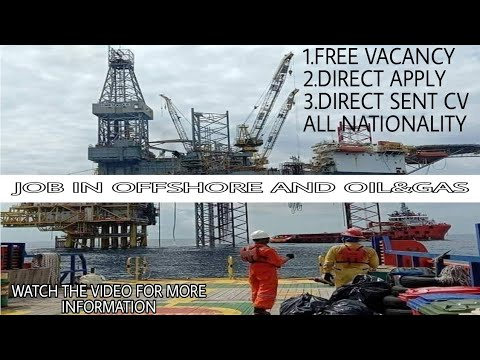 offshore job | job in oil and gas | free vacancy | direct ap