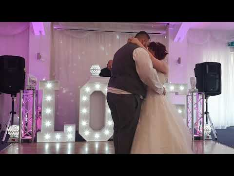 Jack and Alice's beautiful wedding at Calderfields 21-06-2019. First dance part 2