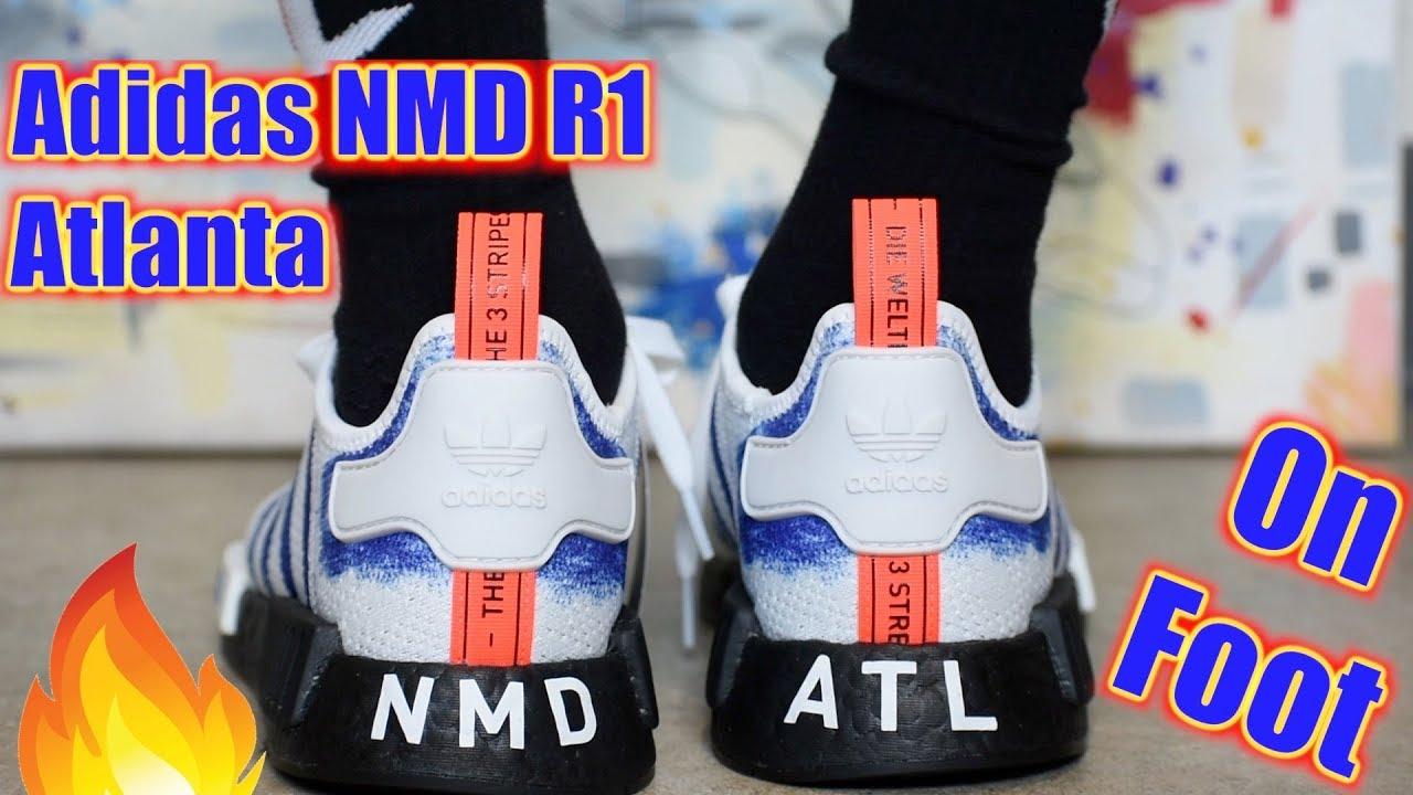 Adidas NMD R1 Atlanta DONT SLEEP - YouTube
