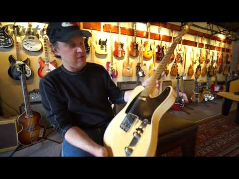 Joe Bonamassa plays Keith Richards' Guitar at Rumble Seat Music in Nashville