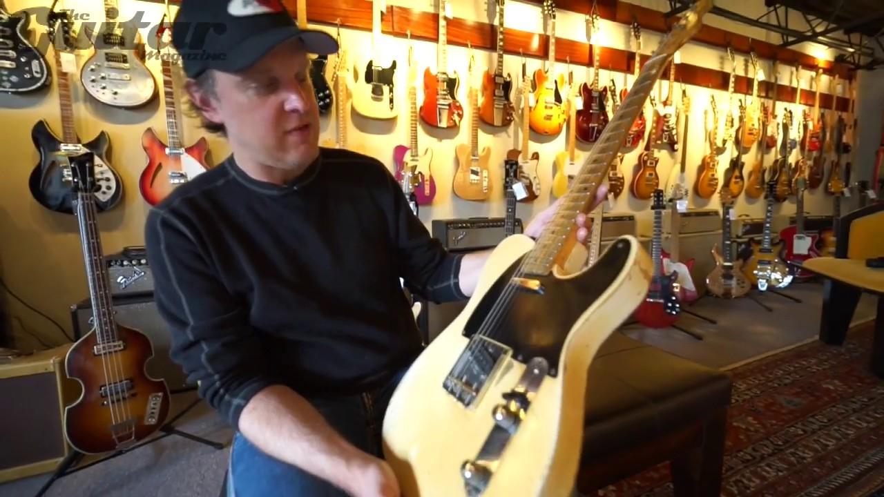 Joe Bonamassa Plays Keith Richards Guitar At Rumble Seat Music In
