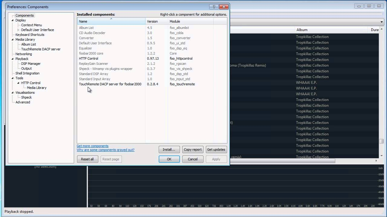 How To Control Foobar2000 from iPhone/iPad