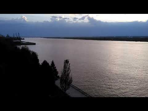 Kama river, east view. Ower then 800 meters wide.