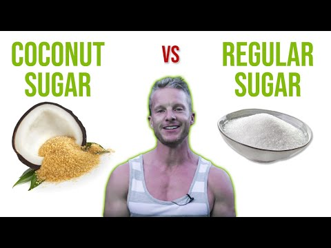 Is Coconut Sugar A Healthy Sugar Substitute? �� (COCONUT SUGAR VS REGULAR SUGAR) | LiveLeanTV