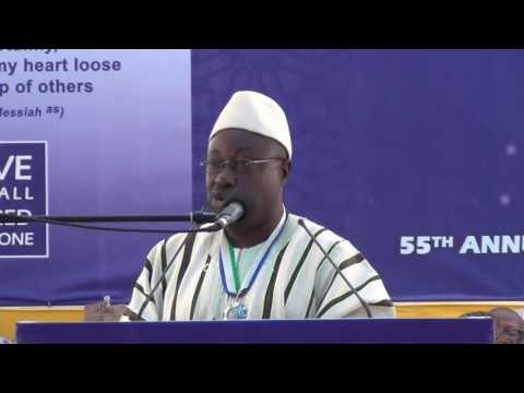 Hon MP P  C  Prince Lappia Boima Kakua Chiefdom