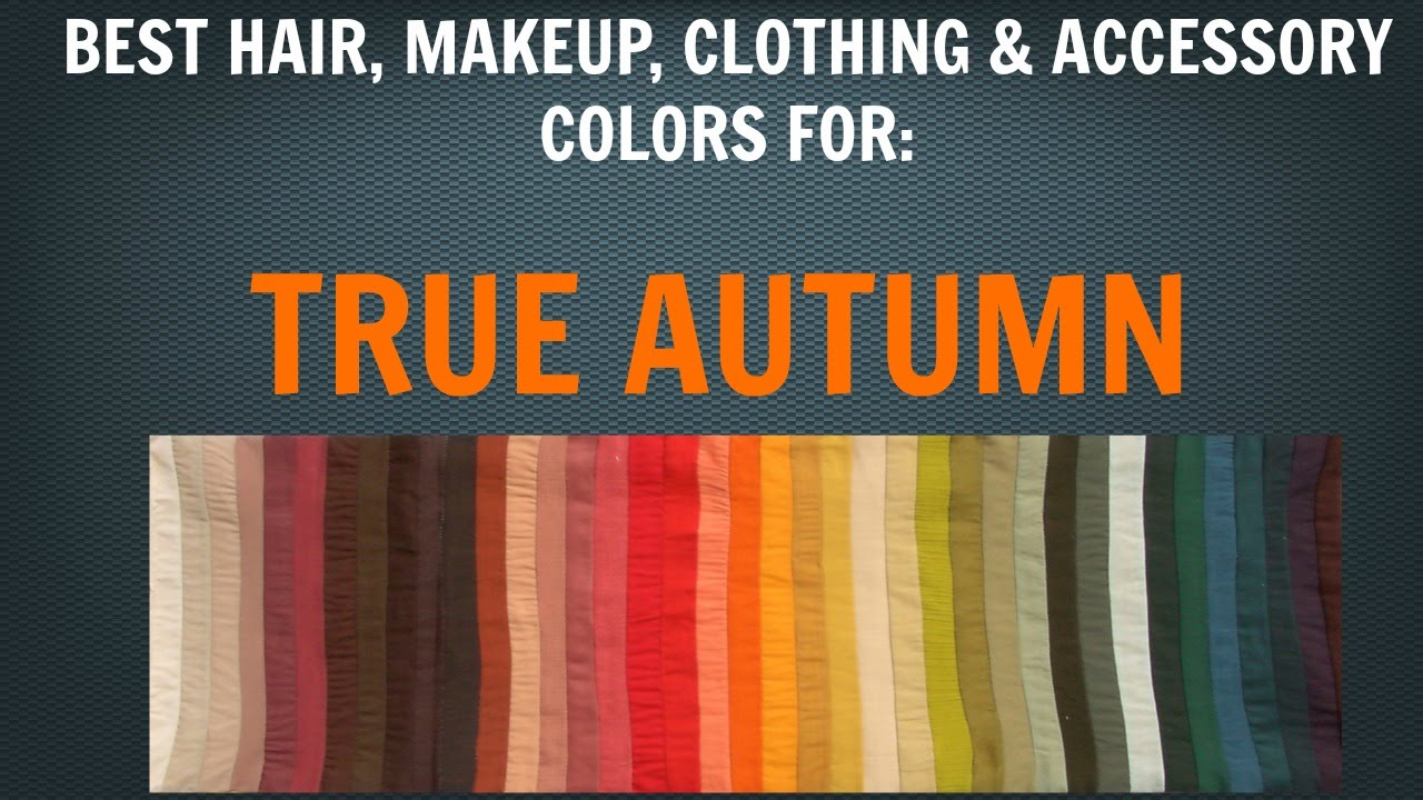 Autumn Color Palette: Best Hair, Makeup