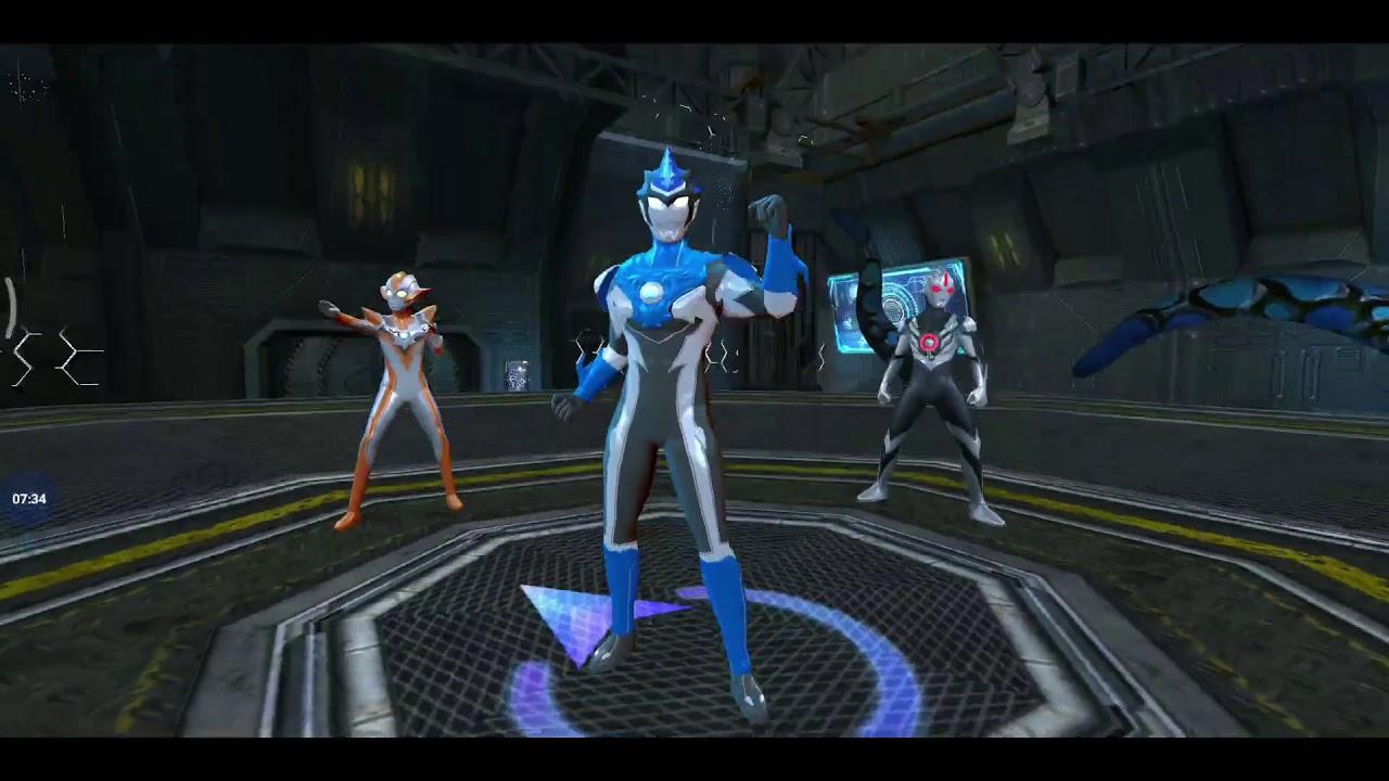 Game Ultraman Warrior Of Galaxy Unlock And Review Skill Ultraman Blu L Kekuatan Elemen Air