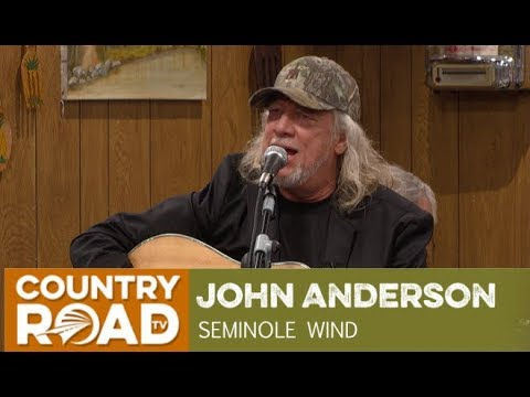 "John Anderson sings ""Seminole Wind"" on Larry's Country Diner"
