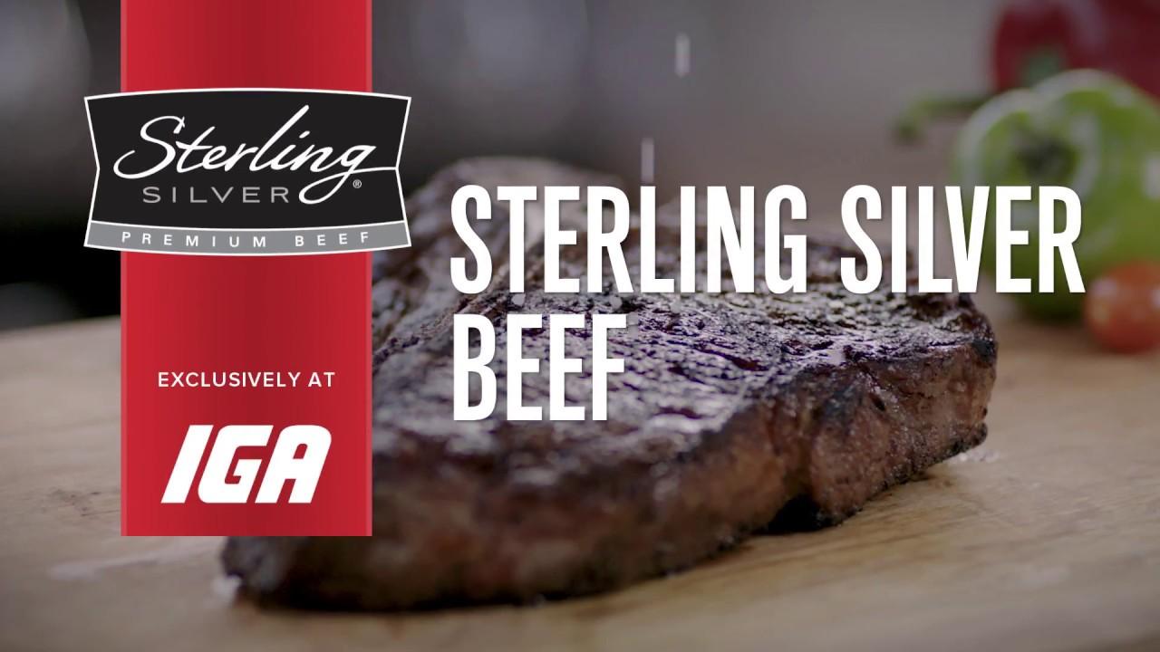Sterling Silver Premium Beef