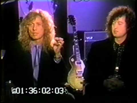 David Coverdale & Jimmy Page unedited interview 1993