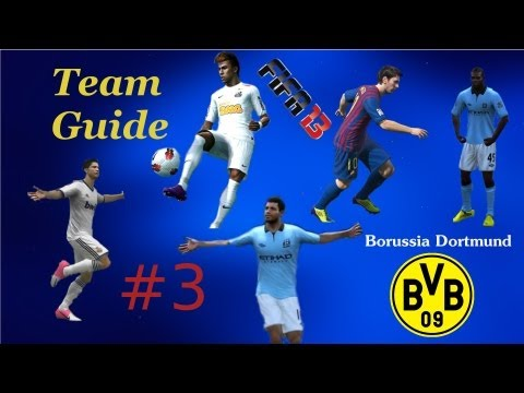 FIFA 13 Team Guide #3 [Deutsch] [HD] - Borussia Dortmund