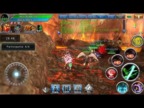 AVABEL ONLINE MMORPG:ZENITH PARTY.Scathe Geo Dancer - Feat: DEDMAN, RED, JMC, Knight And Moon Symbol