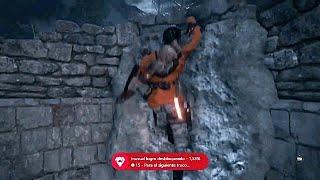 Rise Tomb Raider/Tírate a un POZO/Trofeo - Logro