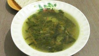 Суп с морской капустой (ламинарией) и грибами - вегетарианский рецепт
