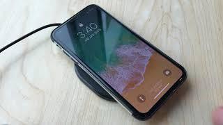 버바팀 아이폰 7.5W 고속 무선 충전 슬림패드로 충전하기
