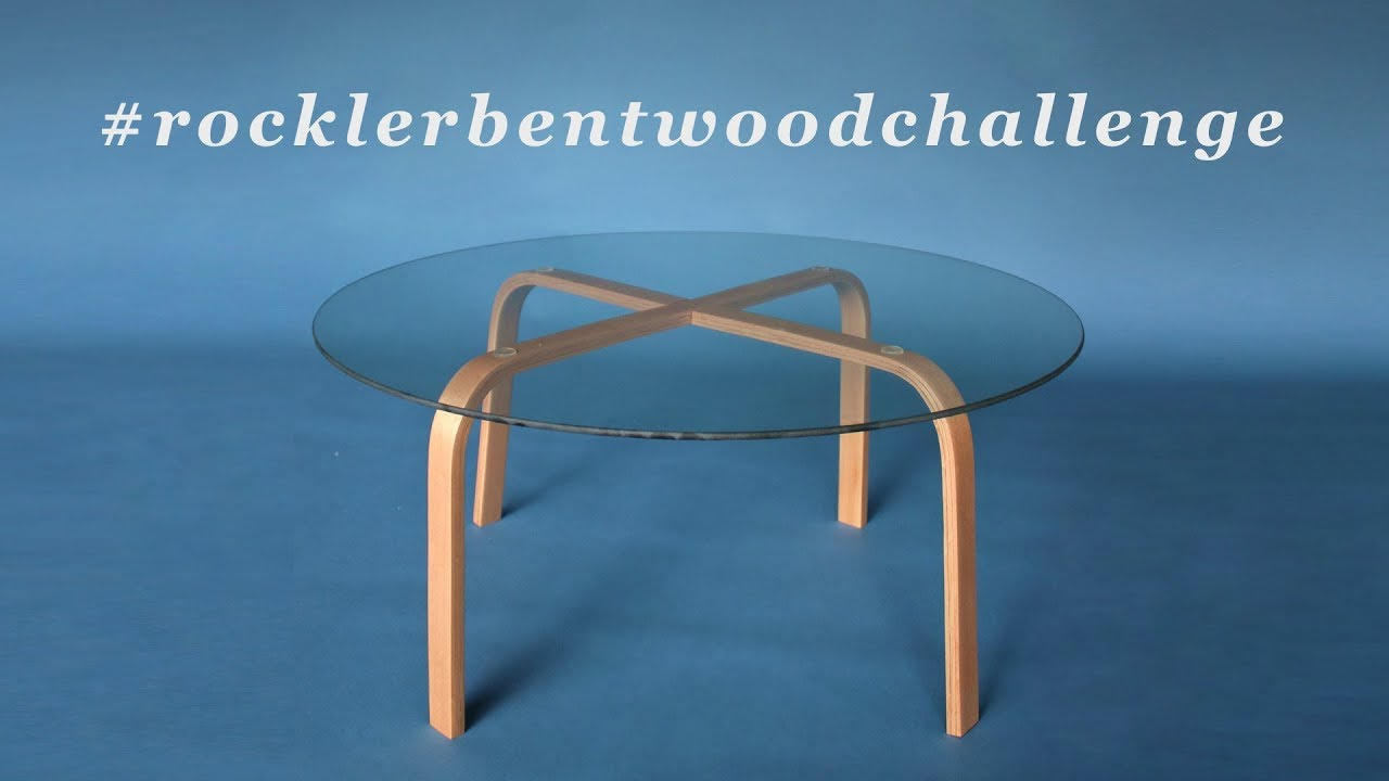 How To Make A Bent Laminated Coffee Table Steam Bending Wood Rocklerbentwoodchallenge