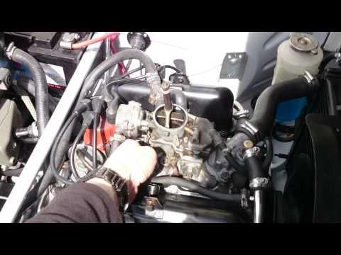 Rebuilt SAAB 96 V4 Engine