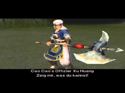 Let's Play Dynasty Warriors 3 [German] Part 17: Wu - Taishi Ci der Lappen