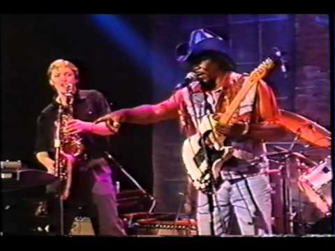 Eddie King and the Swamp Bees live 1999,I Ain't Drunk,and interview with Eddie