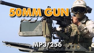 Free Sound Effect - Shooting a Heavy Machine Gun - 50MM Cal.