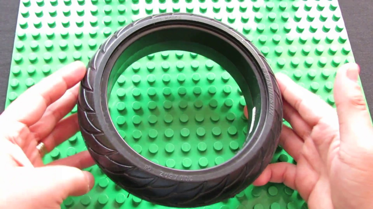 Unboxing RisingSun 8 inch Solid Tyre for Electric Scooter Ninebot ES2 / ES1