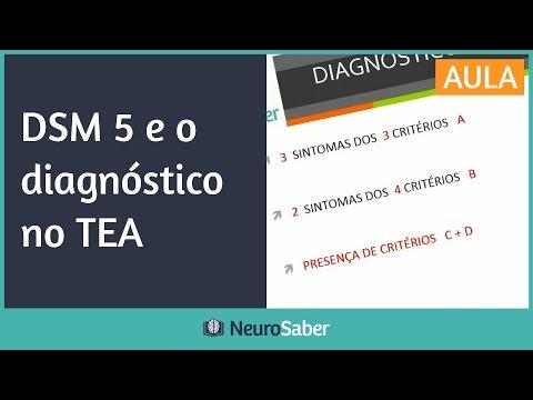 DSM 5 e o diagnóstico no TEA