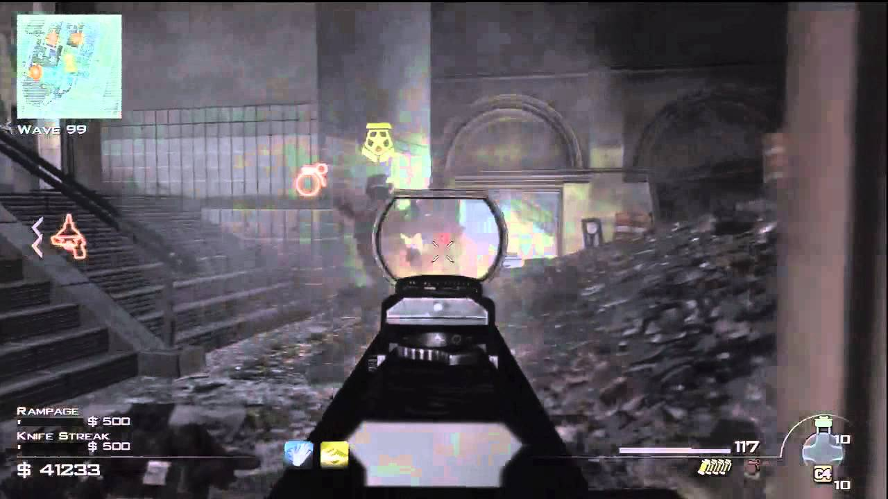 MW3 Underground wave 100 Survival Mode - TheRelaxingEnd & ChristianR87