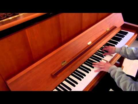 Akcent - Love Stoned (solo piano cover) by Danny