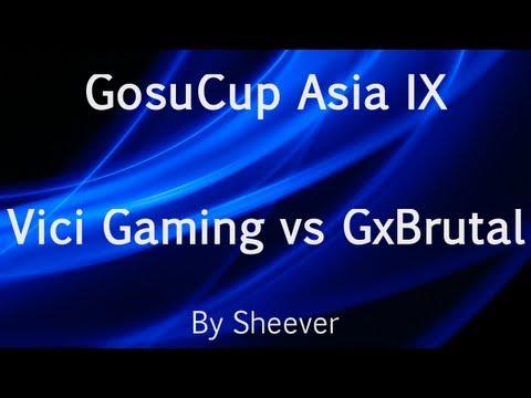 Dota 2 - Vici Gaming vs Gx.Brutal - GosuCup Asia IX
