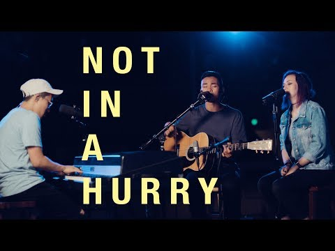 Not in a Hurry - United Pursuit x COLLECTIVE (Live Acoustic Cover)