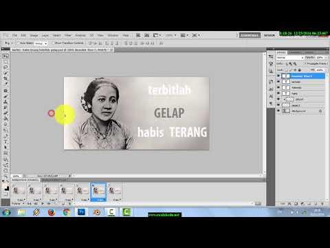 Ttr Photoshop Bajakan IBU KITA KARTINI BUAT ANIMASI TEXT BERGERAK DI PHOTOSHOP CS5 UNTUK WEBSITE FOR