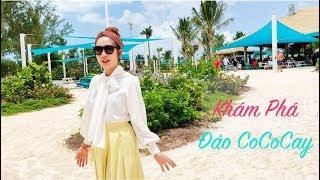 Khám Phá đảo Cococay, Bahamas cùng gia đình Lý Hải Minh Hà