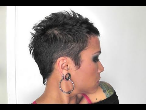 Styling VERY Short Hair  YouTube
